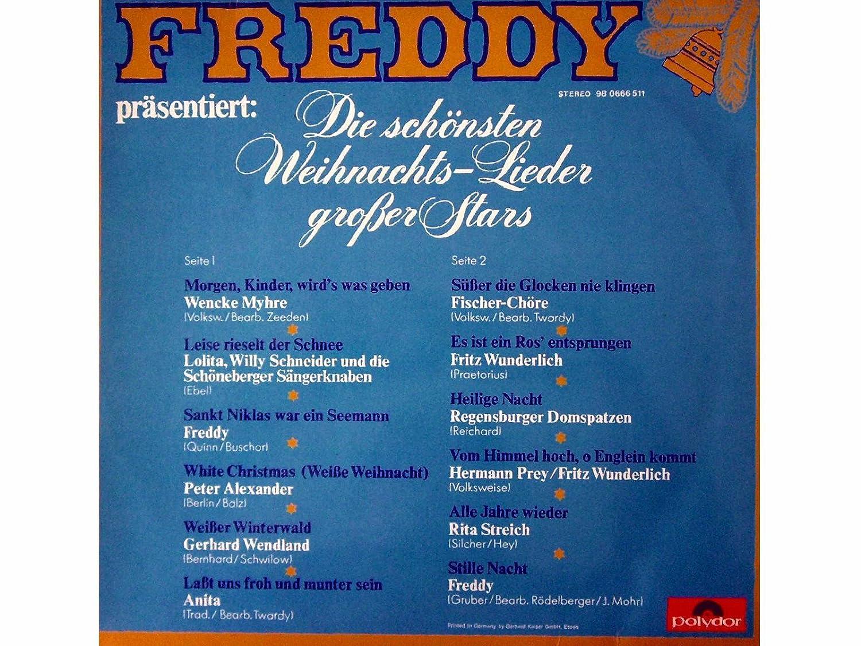 Freddy Präsentiert Die Schönsten Weihnachtslieder Großer Stars.Freddy Präsentiert Die Schönsten Weihnachtslieder Großer Stars