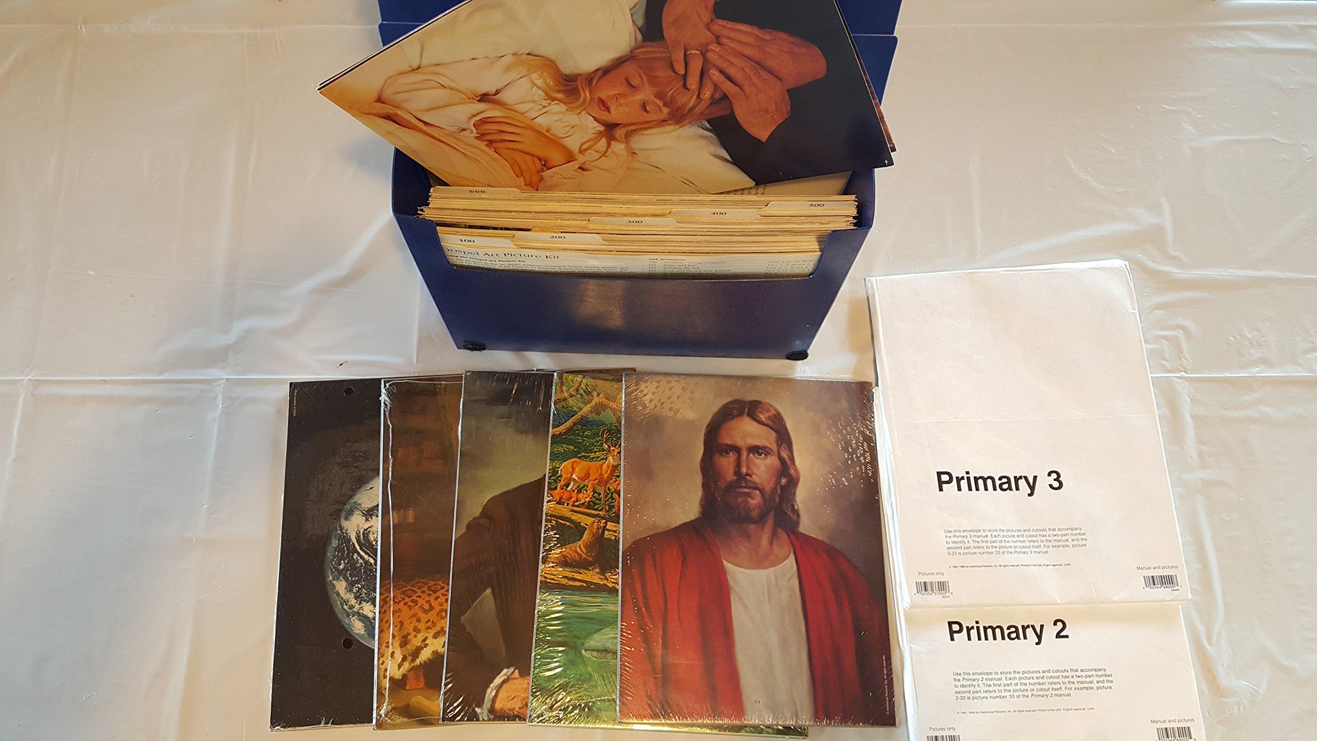 Gospel Art Picture Kit - Boxed: Mormon Church: Amazon com: Books