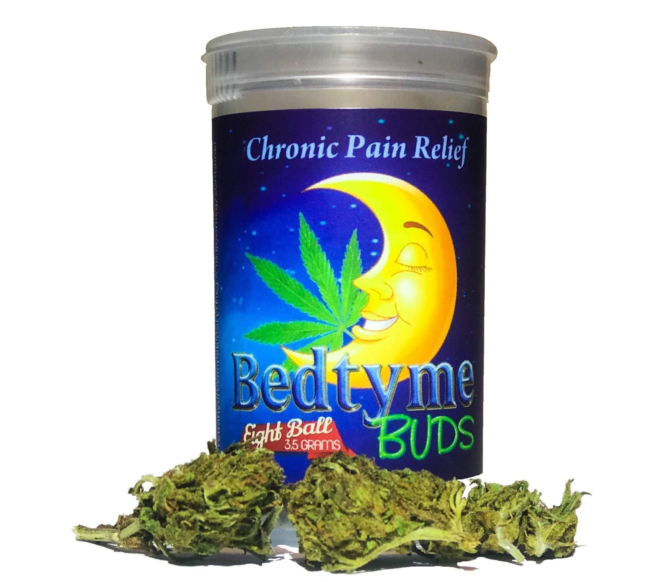 BedtymeBUDS CBDhempFlower 3.5 grams Chronic Pain Stress Relief