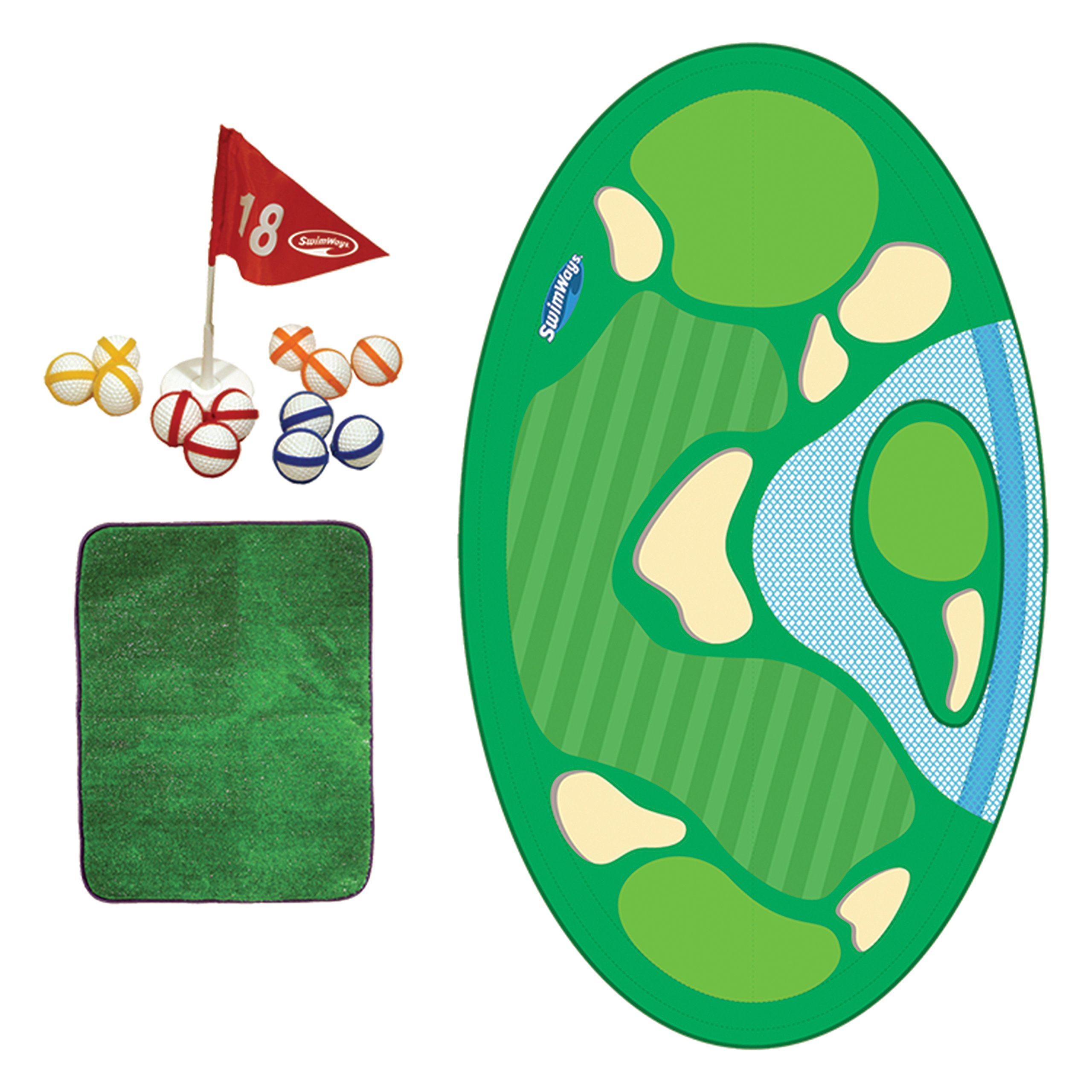 SwimWays Pro-Chip Spring Golf Floating Pool Game by SwimWays