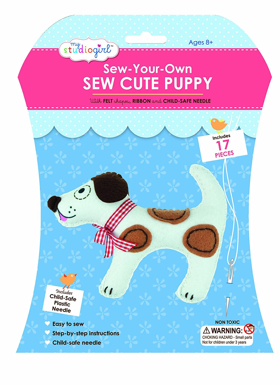Puppy University Games 67078 My Studio Girl Sew Cutes