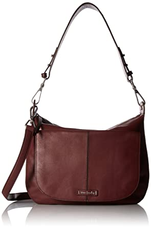 Vera Bradley Carson Shoulder Bag Grain Leather  Handbags  Amazon.com 7083e9a3be
