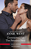 Mills & Boon : Contracted For The Petrakis Heir (One Night With Consequences)