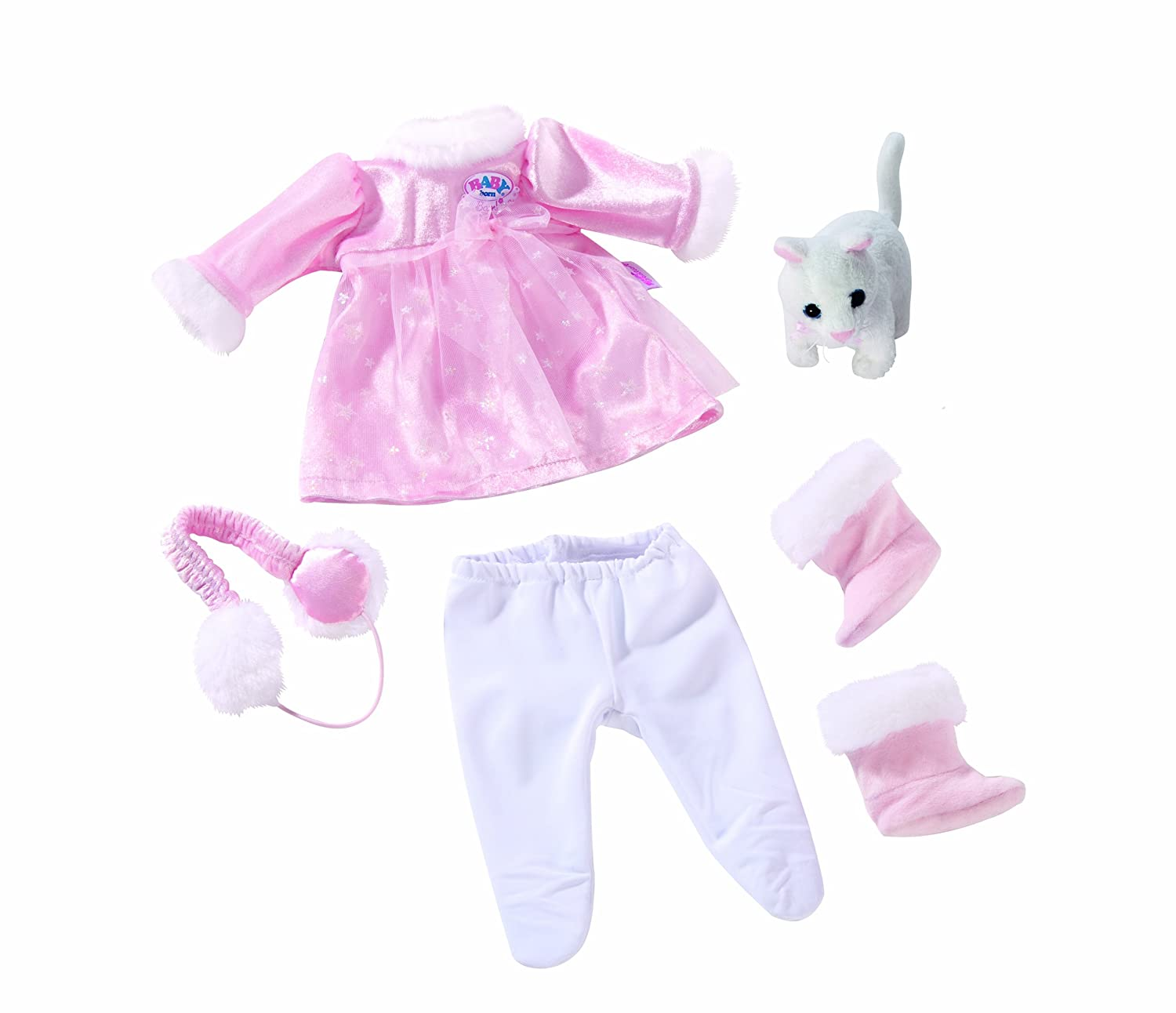 Baby Born Winter Fairy Tale Outfit Classic Set Amazon Toys