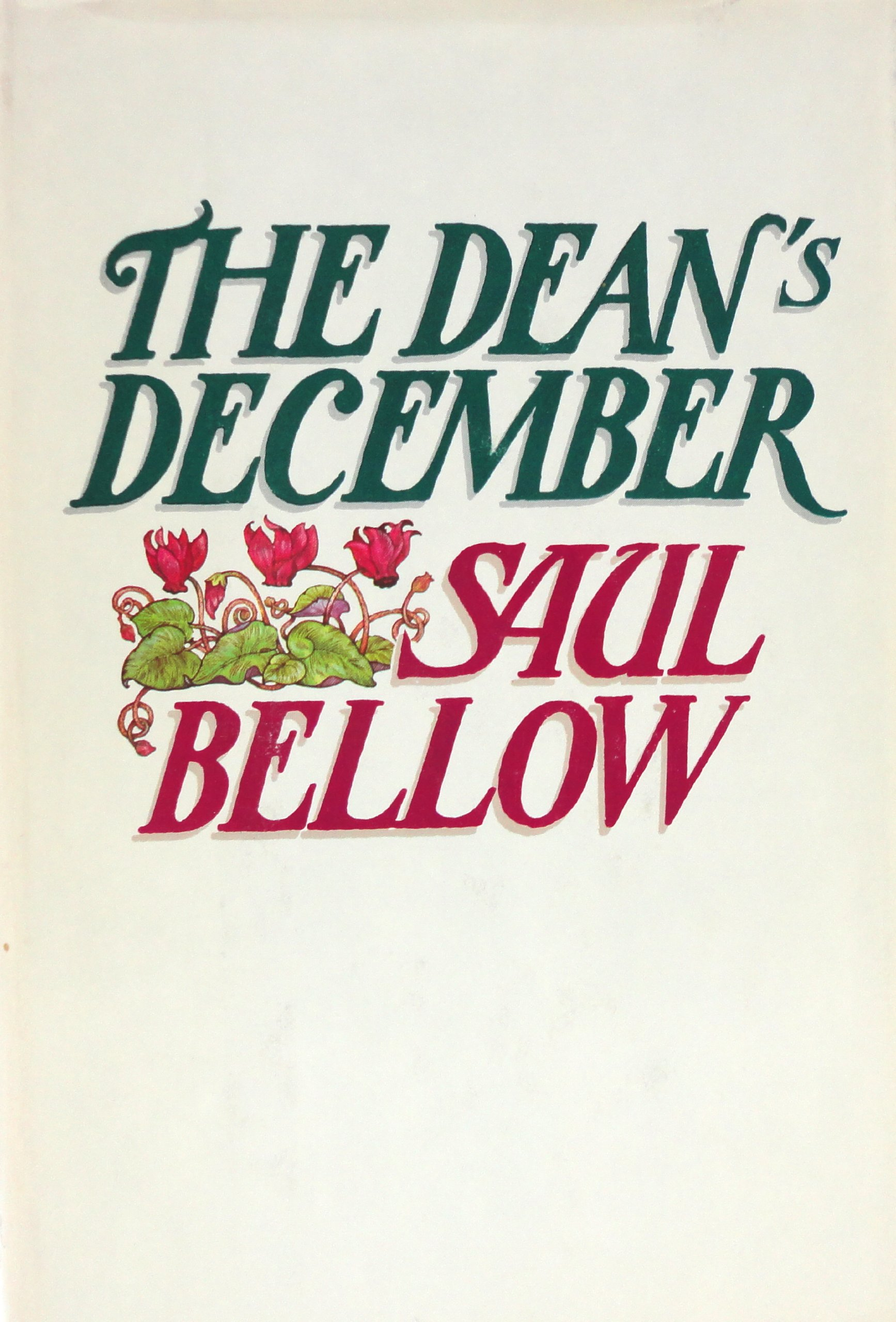 The Dean's December, Bellow, Saul