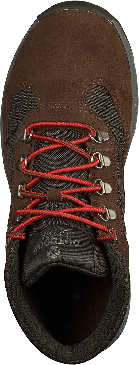 Skechers Men Chocolate Brown 'Outdoors Ultra' Hiking Boots Brown