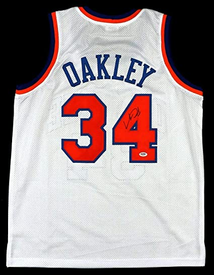 ad00db350 Image Unavailable. Image not available for. Color  Charles Oakley  Autographed Signed Autographed Signed Custom ...