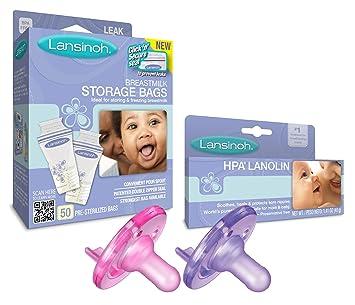Amazon.com: Lansinoh leche materna bolsas de almacenamiento ...