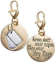 2a6716dfcb960 Gold 2-Tone Medallion - Dog Tags