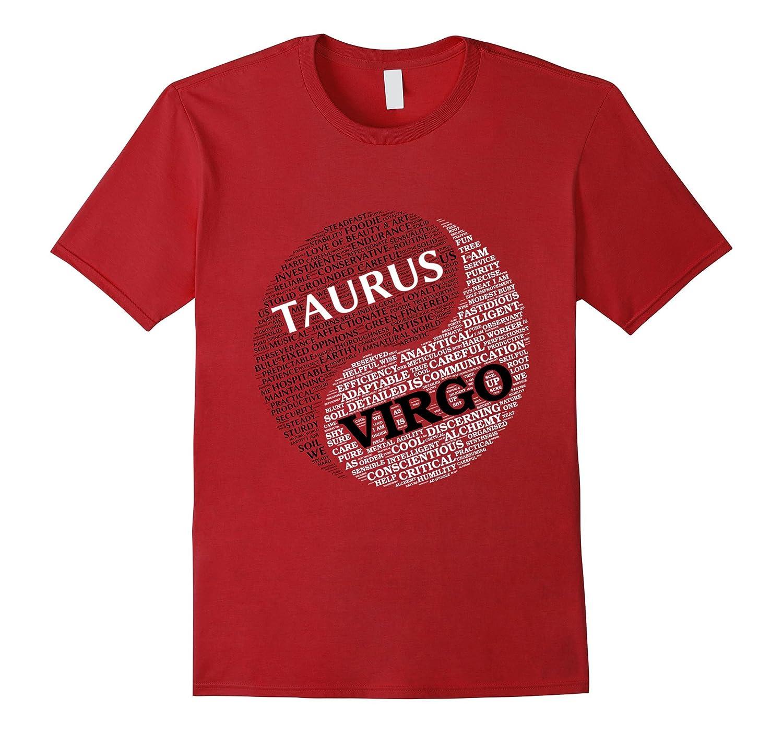 Zodiac Facts shirt for Men & Women Taurus and Virgo T-shirt-Art