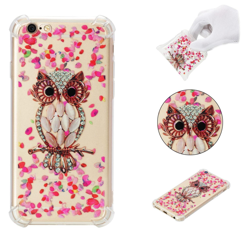 Pour Apple Iphone 6 - (4.7 pouces) Ultra-mince Transparent Soft TPU Prévention des fissures Doux Silicone Bumper Case Coque Housse Etui (10)