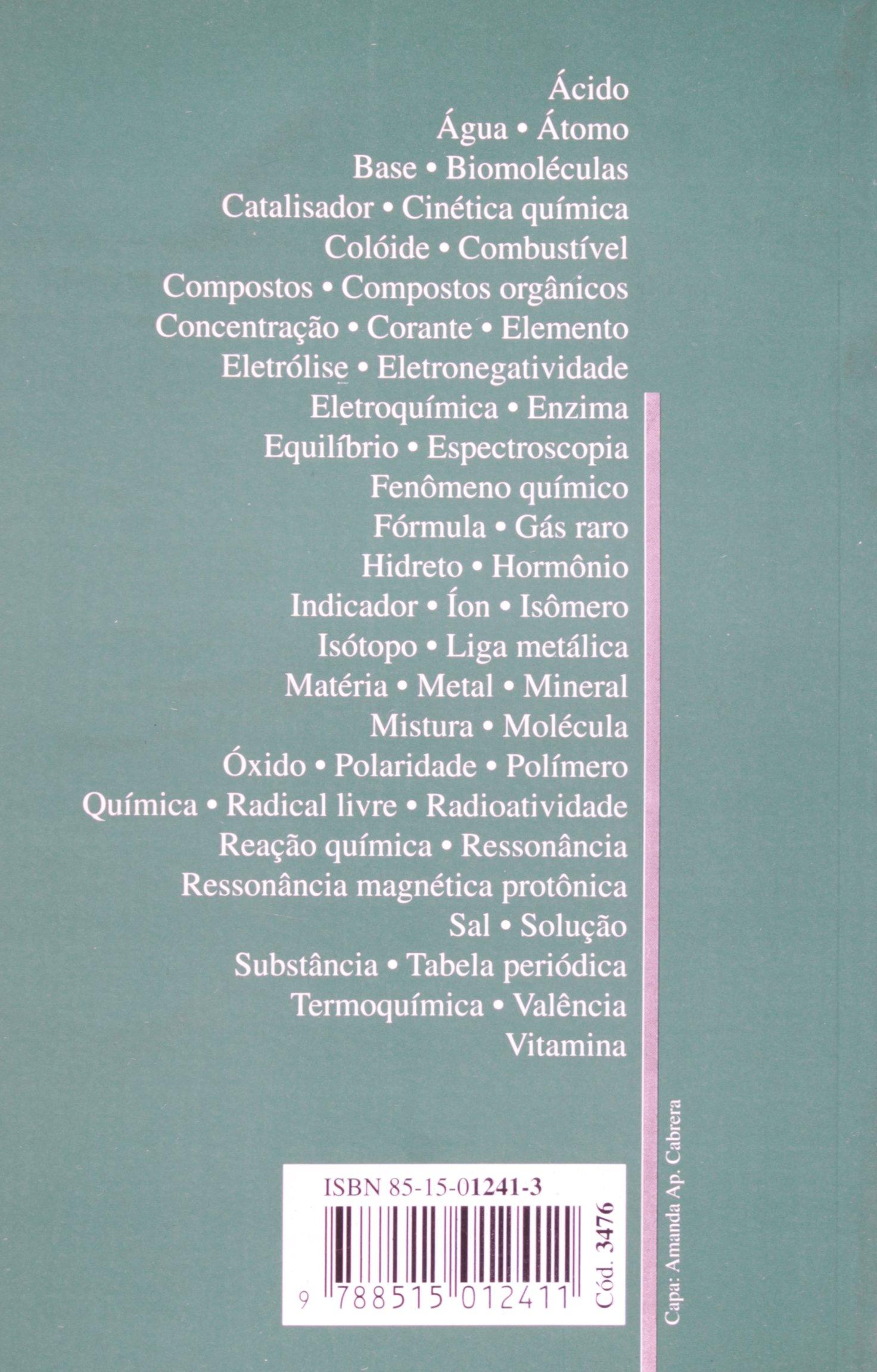 A Quimica (Em Portuguese do Brasil): Amazon.es: Luciano do ...