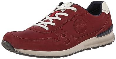 CS14 Mens, Herren Sneakers, Rot (Port/Brick), 42 EU (8 Herren UK) Ecco