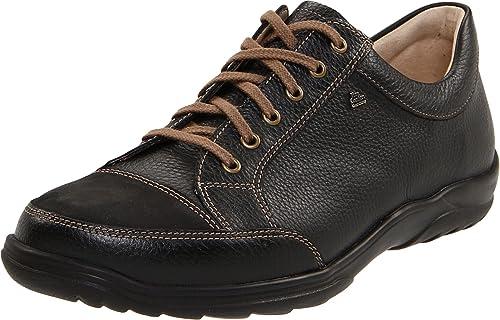 Finn Comfort - Zapatos de cordones para mujer, color negro, talla 41.5