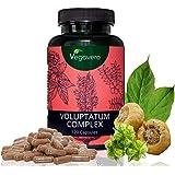 Integratore Naturale per il TESTOSTERONE Vegavero® | 120 capsule | Migliora resistenza, prestazione e virilità | con Maca, Tribulus e Ginseng | Voluptatum Complex | Vegan