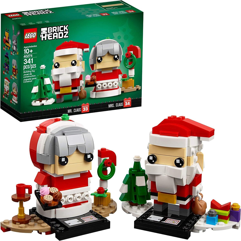 Santa Claus Brickheadz /& Stand