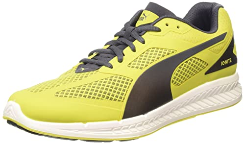 Puma Ignite Mesh, Men's Running, Yellow - Gelb (Sulphur Spring-Periscope 02