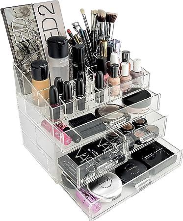 Organizta Chic Box U2013 Acrylic Makeup Organizer U0026 Cosmetic Organizer With  Deep Drawers U0026 Acrylic Part 96