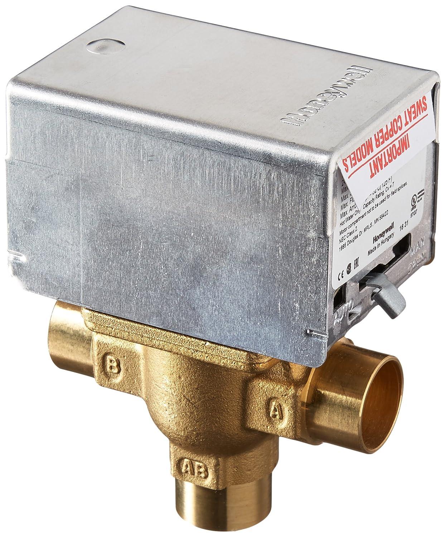 Honeywell V8044a1044 Electric Zone Valve Bathtub And Shower Head Diverter Valves