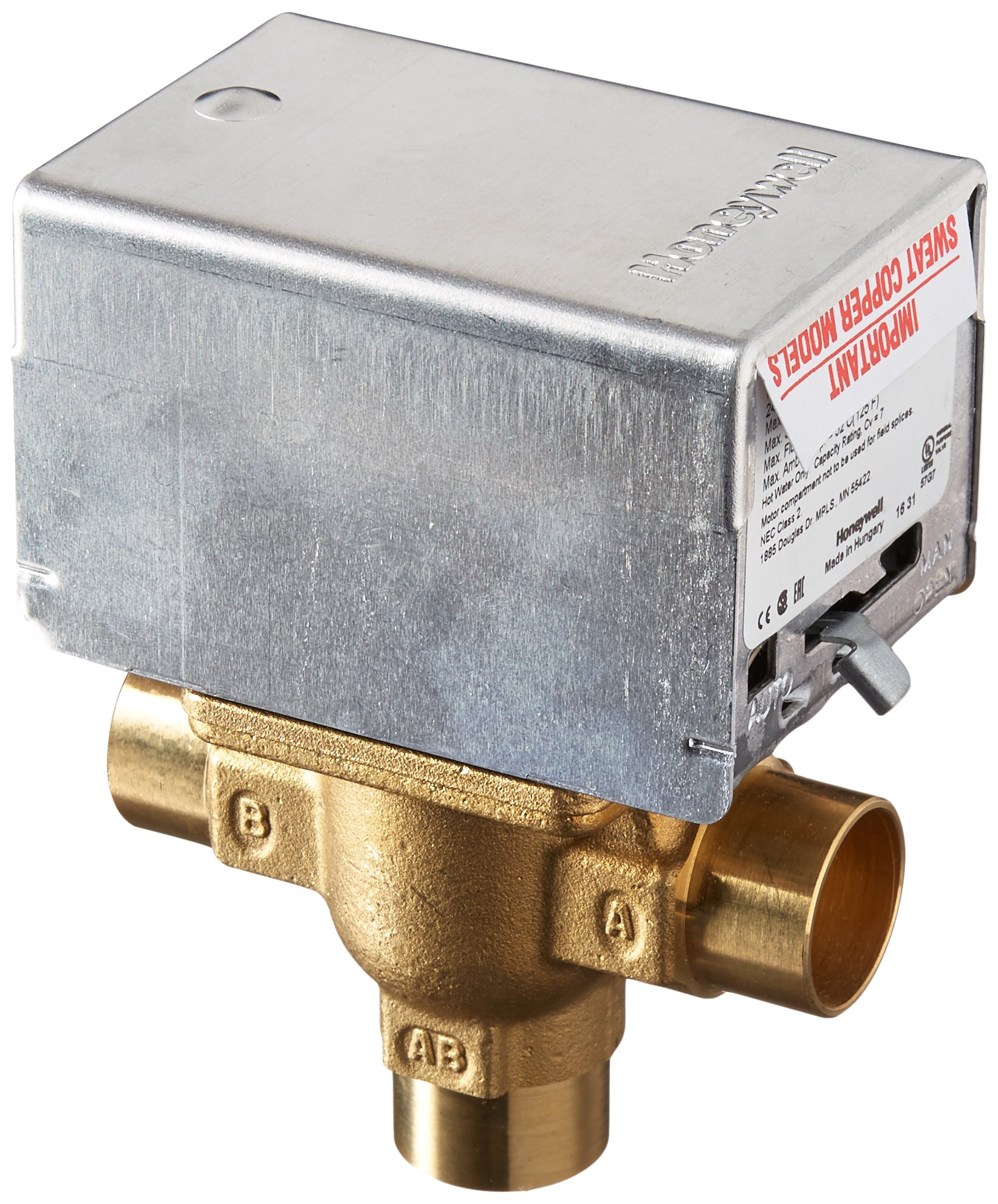 Honeywell V8044A1044 Electric Zone Valve