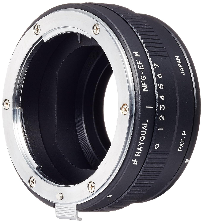 本物保証!  Rayqual 国産レンズマウントアダプタ Nikon F マウントレンズ(Gレンズ対応)-EOSM マウントボディー B00EQ13812 NFG-EFM Nikon Nikon F(G) F(G) B00EQ13812, 新旭町:4892c9dc --- ciadaterra.com