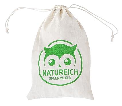 3 Natural escaneado Bolsa de tela bolsa para guardar ...