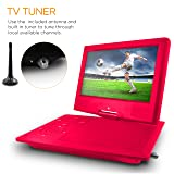 Ematic Portable DVD Player with 9-inch LCD Swivel