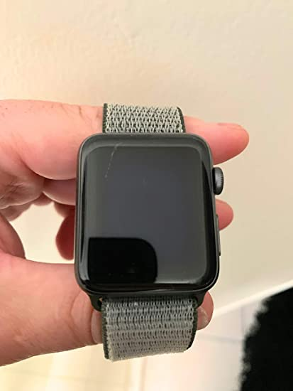 official photos fe24b d7d97 Amazon.in: Buy Apple Watch Series 3 - GPS+Cellular - Space Gray ...