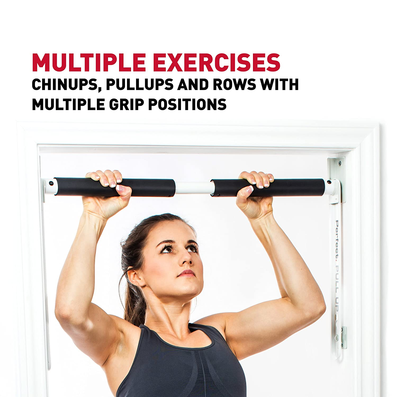 Perfect Basic Pullup Pull Up Progression Bar Alat Fitnes Roll Bars Sports Outdoors