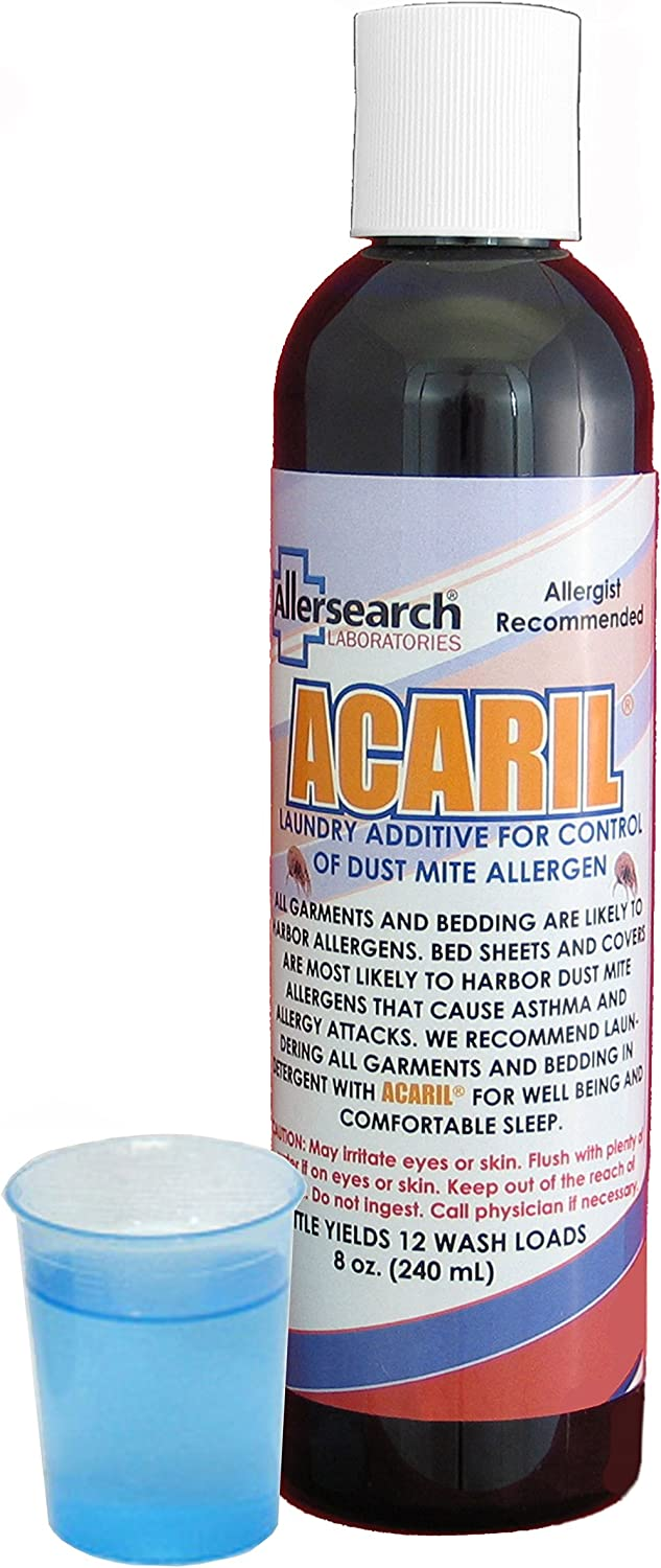 Allersearch ACARIL Laundry Additive 8 oz.