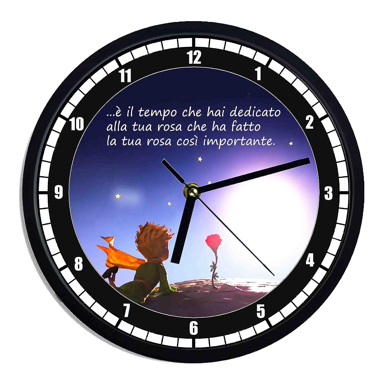 Orologio da parete in plastica Il piccolo principe italiano DB GROUP SRL