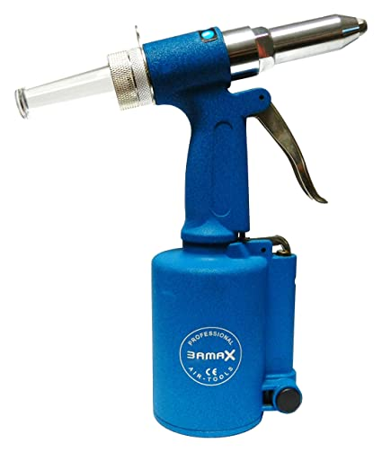 Bamax AT0015 Rivettatrice Pneumatica Professionale, Azzurro: Amazon ...