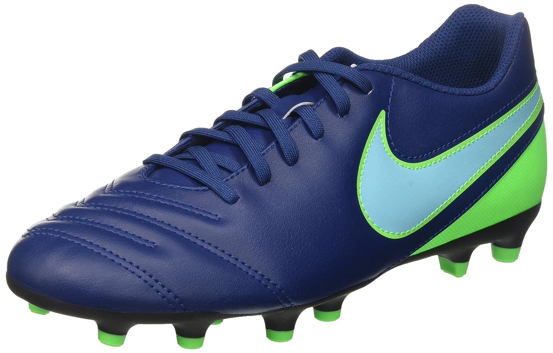 NIKE Herren Tiempo Rio Iii Fg Fußballschuhe, Blau