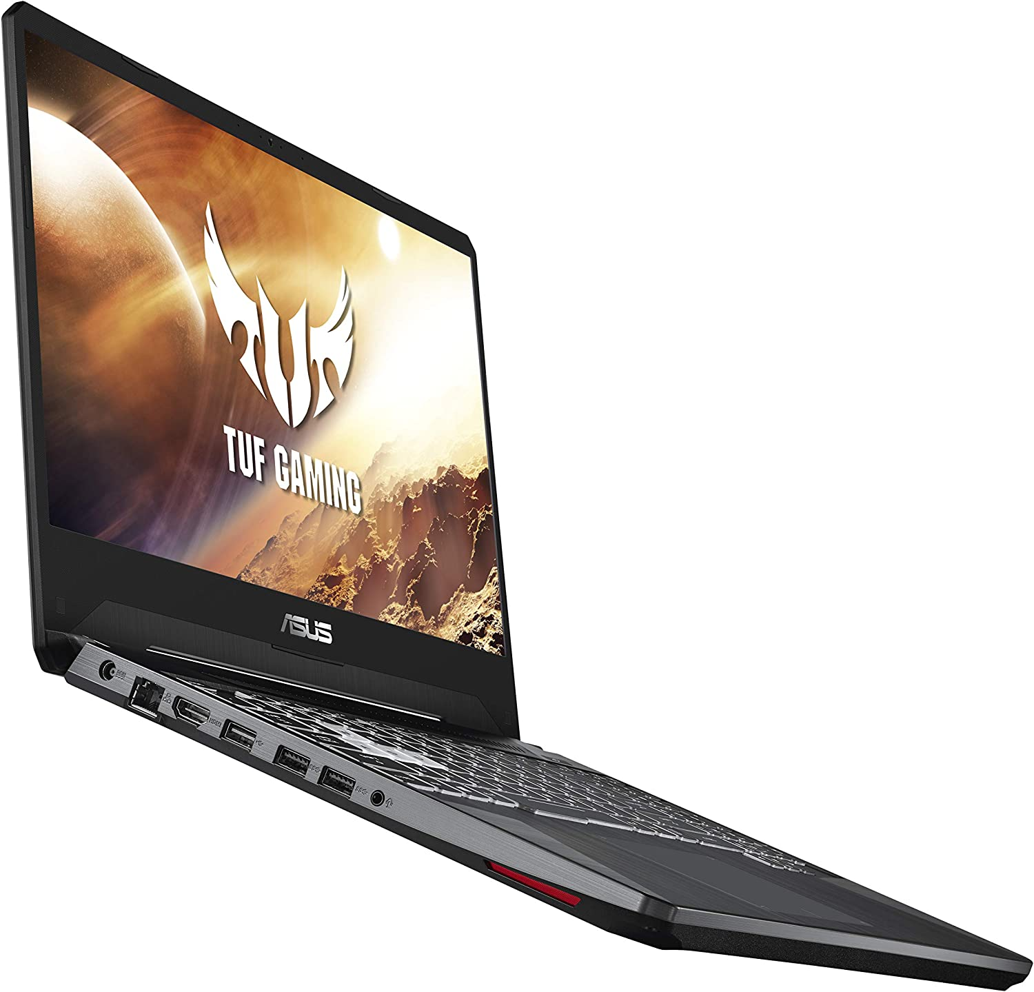 "ASUS TUF Gaming Laptop, 15.6"" 144Hz Full HD IPS-Type, AMD Ryzen 7 3750H, GeForce GTX 1650, 8GB DDR4, 512GB PCIe SSD, Gigabit Wi-Fi 5, Windows 10 Home, FX505DT-ES73"