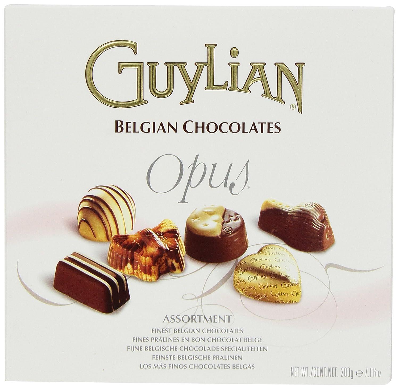 Amazon.com : Guylian Belgium Chocolates Opus Assortment, 7.06 ...
