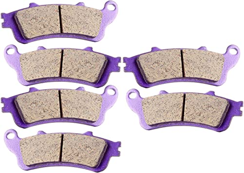 Master Chen Front Rear Brake Pads Brakes for Honda GL 1800 A ABS Goldwing VFR 800 A Fi ST 1300 CBR 1100 VTX 1800 FA261FR