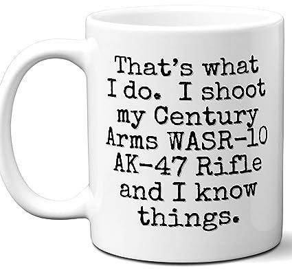 Amazon com: Gun Gifts For Men, Women  Century Arms WASR-10