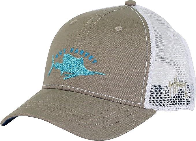 c5f21a64d312c Amazon.com  Guy Harvey Streaker Hat - Khaki - One size fits all ...