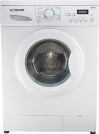 Bomann WA 9312.1 Waschmaschine Frontlader / A+ B / 1200 UpM / 5 kg ...