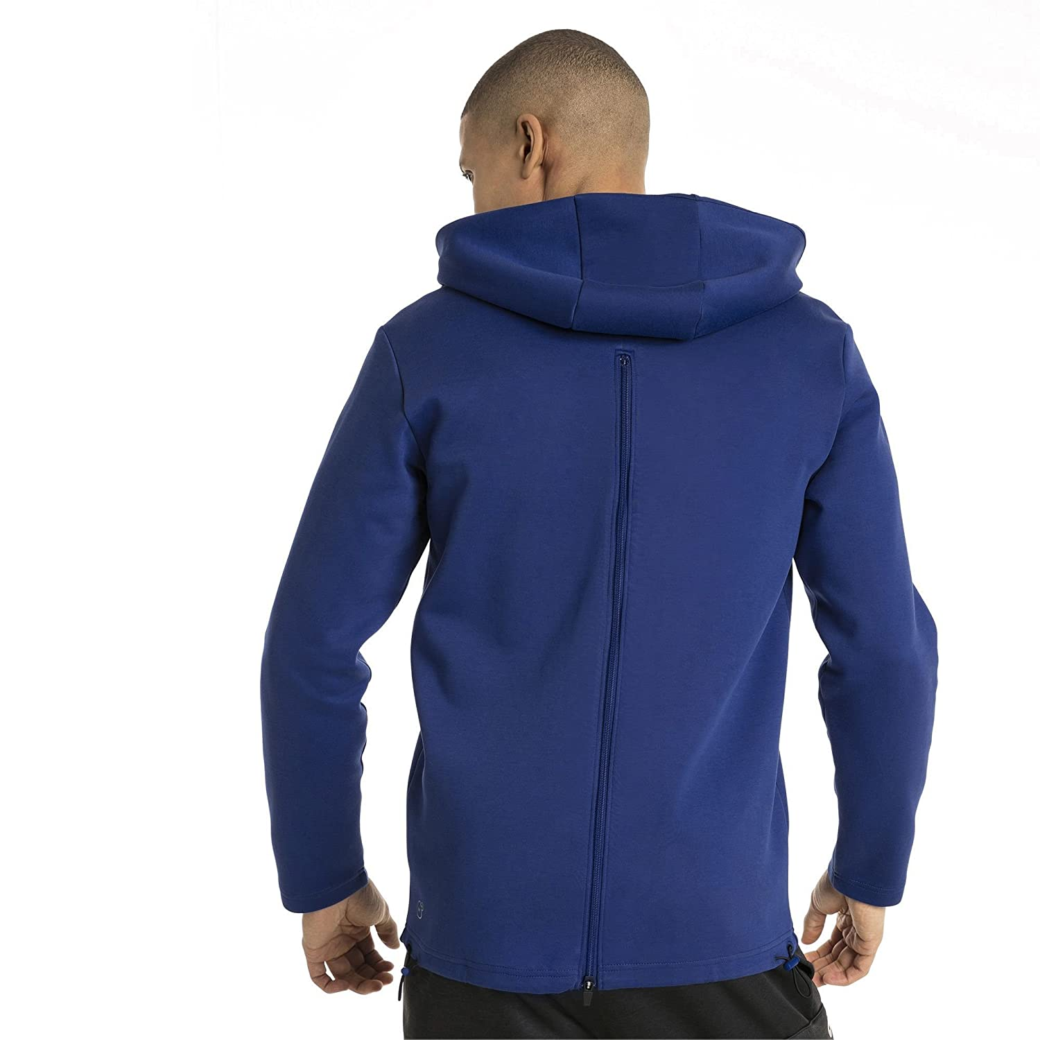 c58a6248d7 Puma Q4 Vent Hooded Jacket Sodalite Blue: Amazon.in: Clothing ...