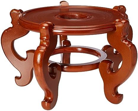 Oriental Muebles Elegant asiático Decor 12.5-inch chino estilo de porcelana, diseño de pecera