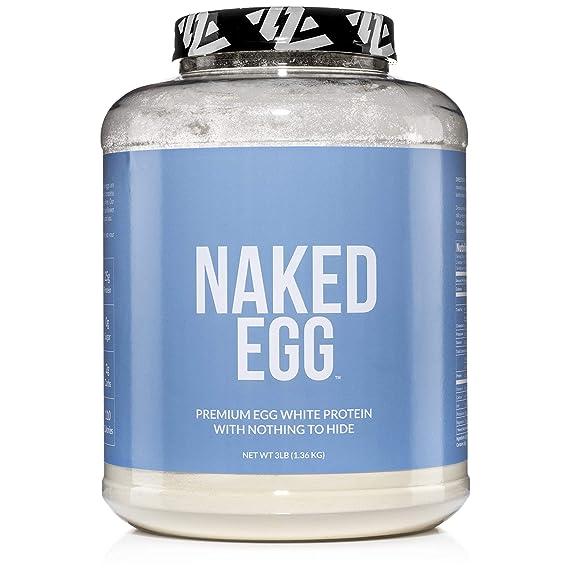 NAKED EGG – 3LB Non-GMO Egg White Protein Powder