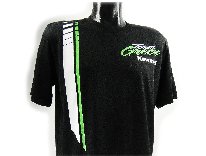 Kawasaki - Camiseta - para hombre Negro negro: Amazon.es: Ropa y accesorios