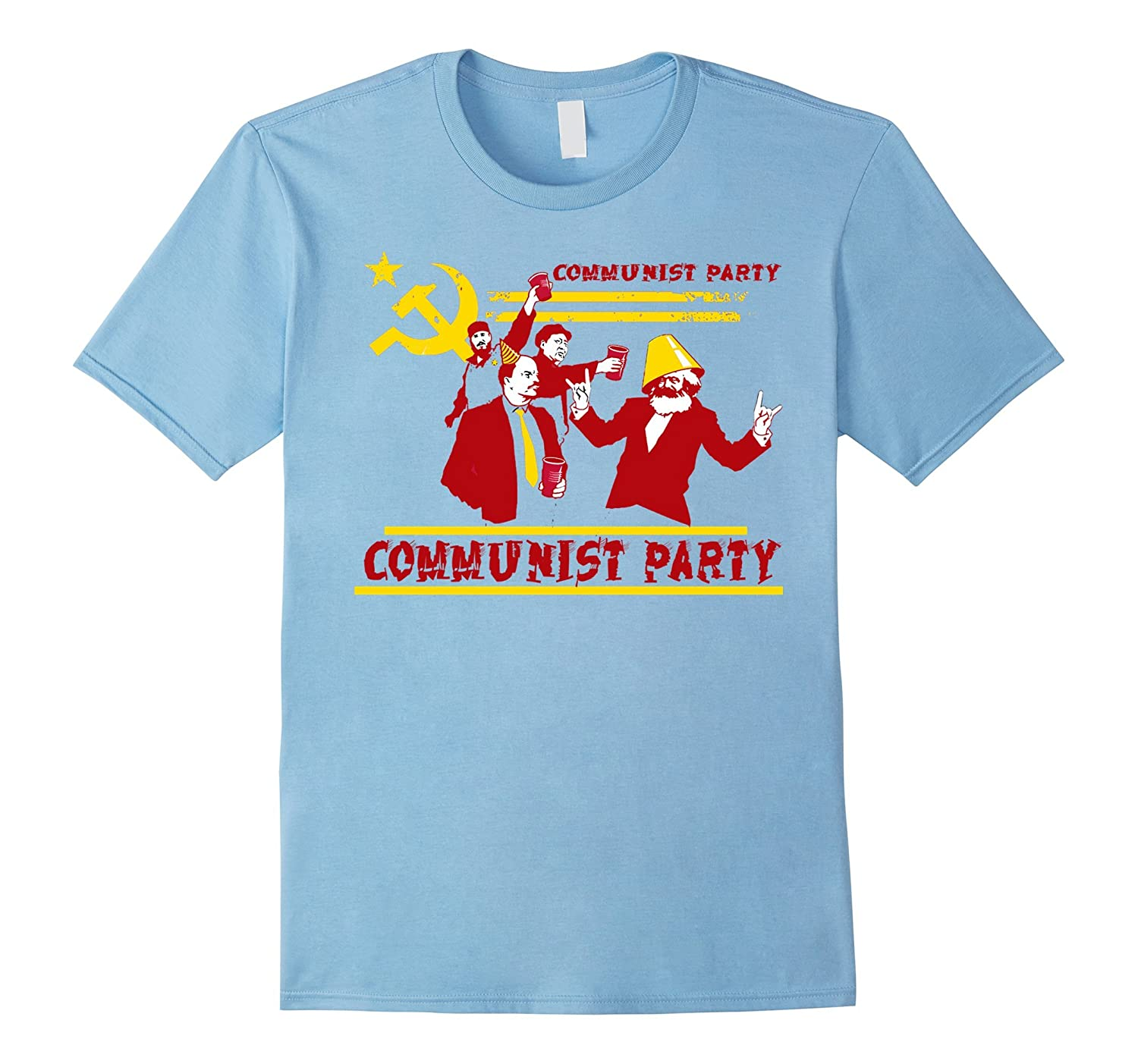 7a5eac63 TEE – The Communist Party T-Shirt-CD – Canditee