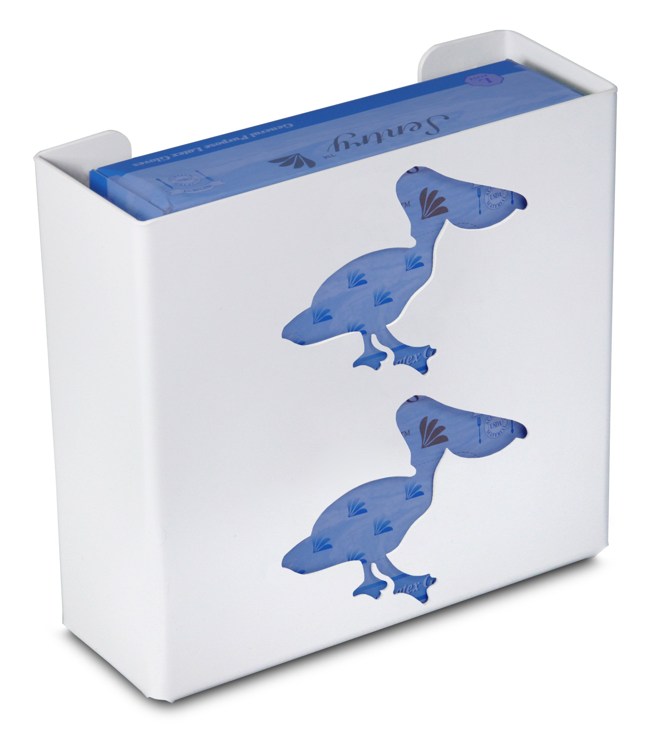 TrippNT 50864 Priced Right Double Glove Box Holder with Pelican, 11'' Width x 10'' Height x 4'' Depth