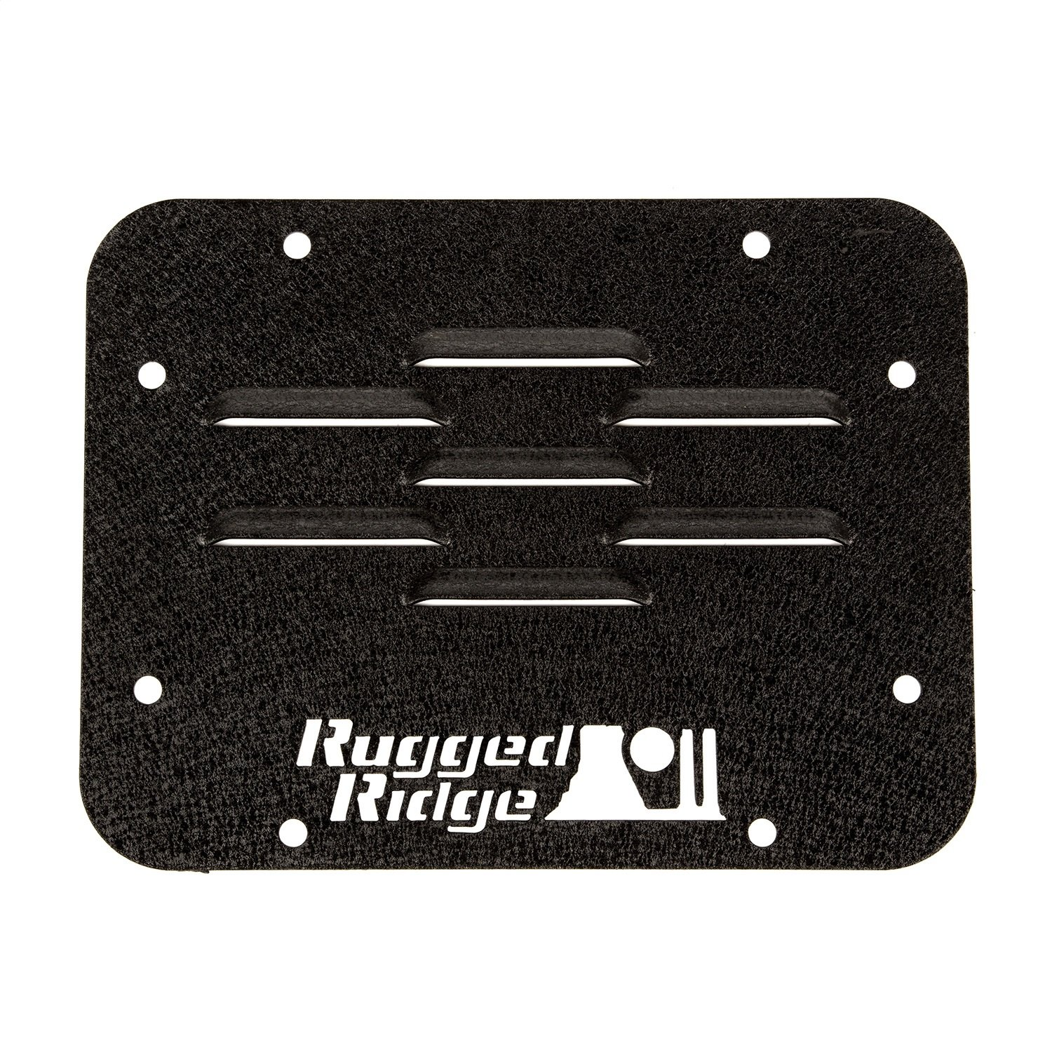 Rugged Ridge 11586.10 Tire Carrier Delete Plate for 2007-2018 Jeep Wrangler JK