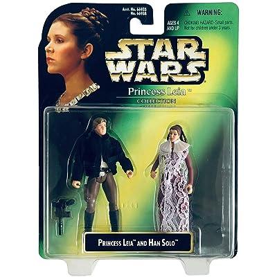 Star Wars Princess Leia Collection Prince Leia And Han Solo Action Figure Set: Toys & Games