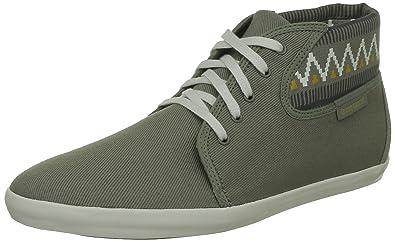 Le Coq Sportif 1310748 Madeleine Ethnic High-Top Sneaker vetiver cumin,  Groesse:37.0