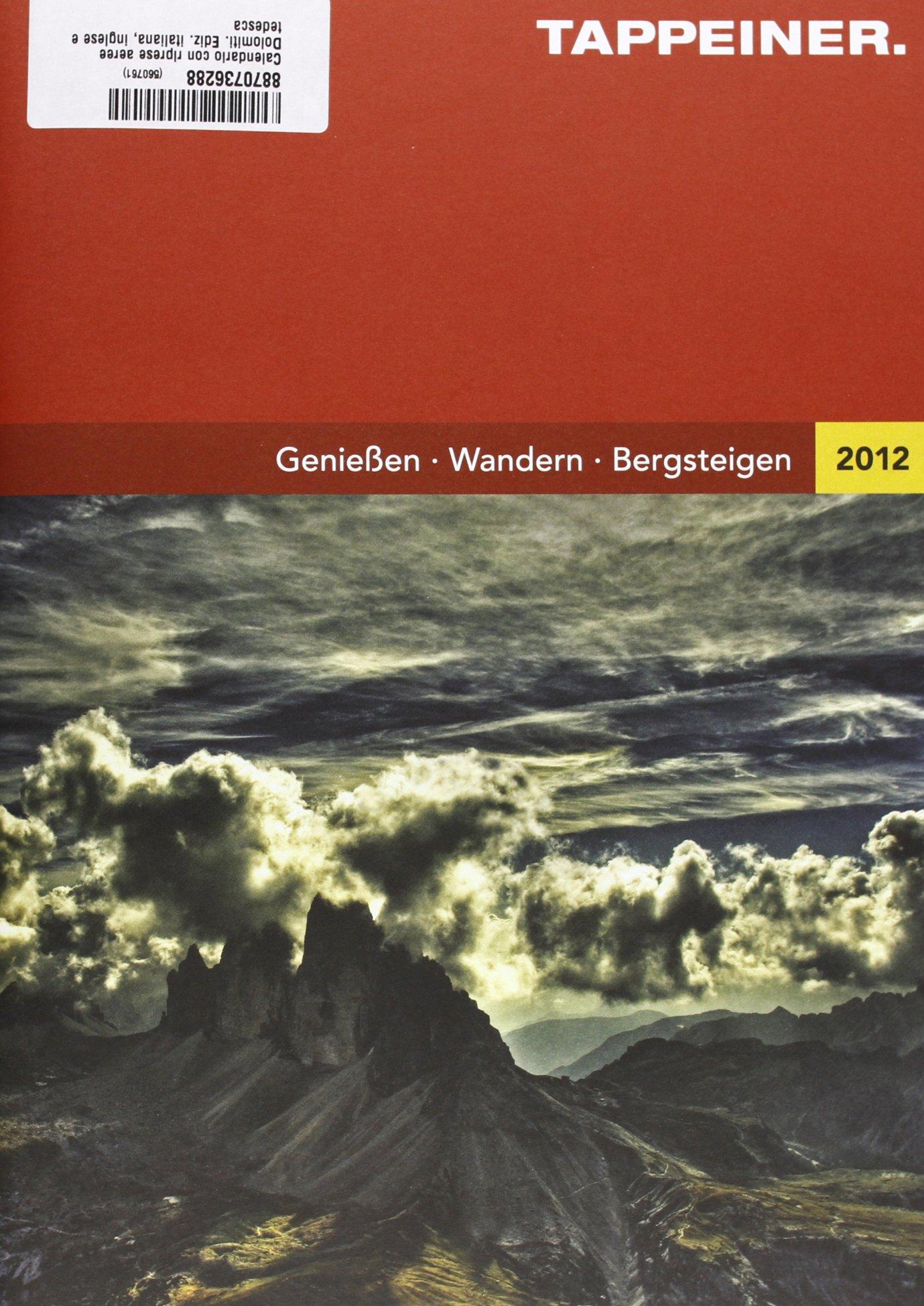 Luftbildkalender Dolomiten 2013