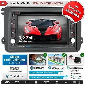2DIN Auto Radio Creatone vw8000 con GPS Navegación (Europa ...